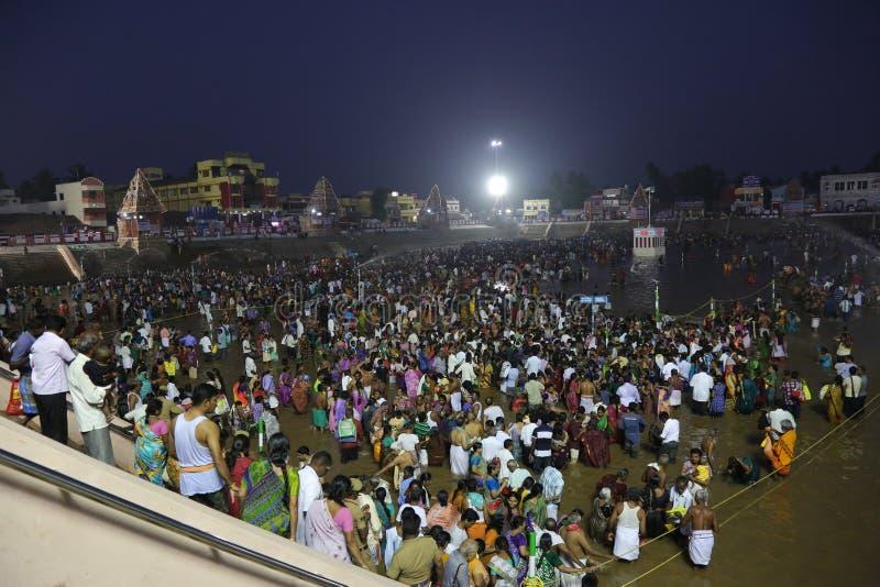 фестиваль magam maha kumbakonam стоковые изображения