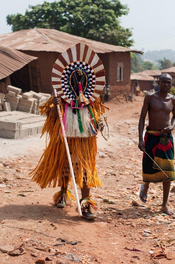 Фестиваль Otuo Ukpesose - Itu Masquerade в Нигерии