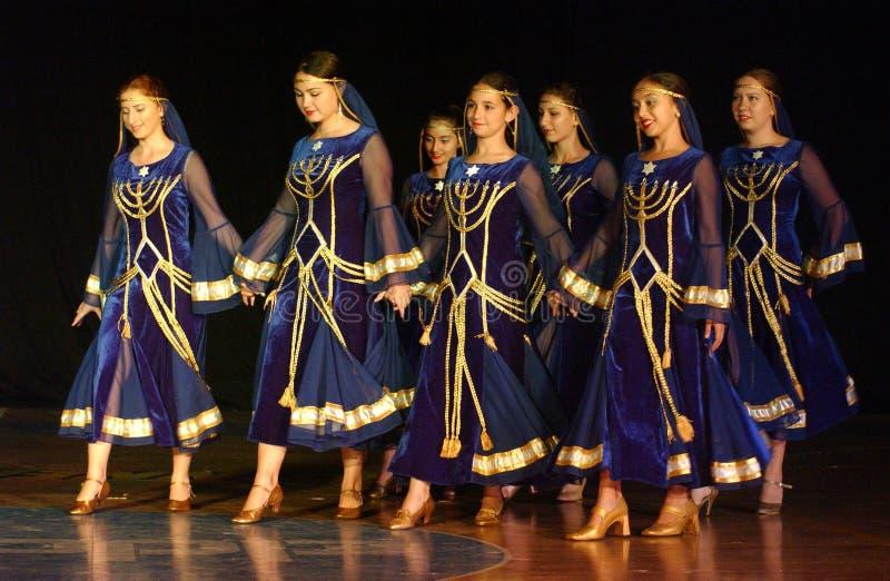 Фестиваль 23rd фольклора международный в Израиле стоковые изображения