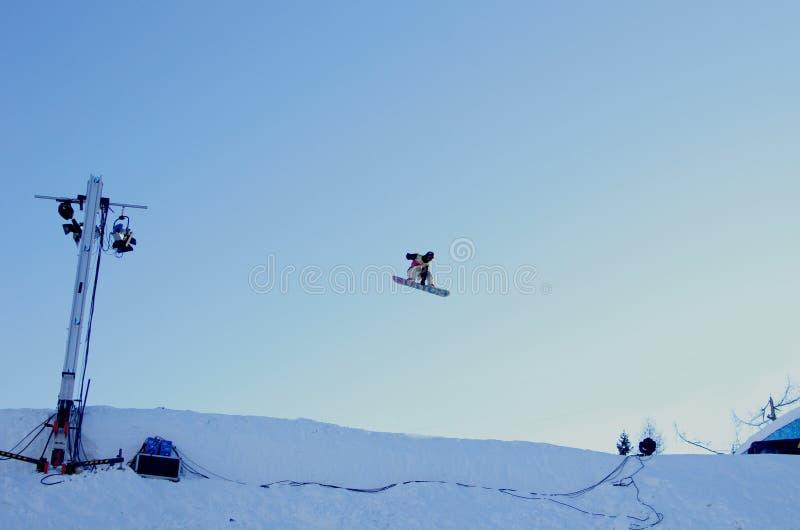 Фестиваль Snowbord стоковая фотография