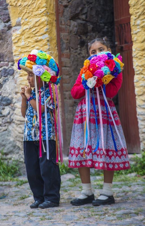 Фестиваль Valle del Maiz стоковая фотография rf