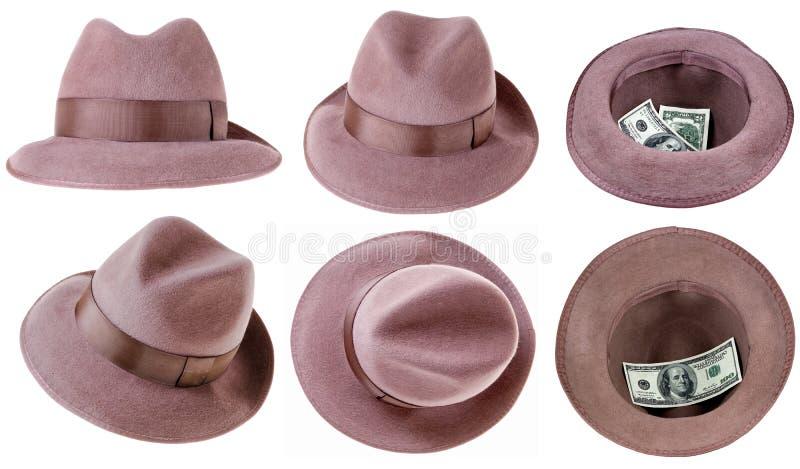 Фетровая шляпа стоковое фото rf