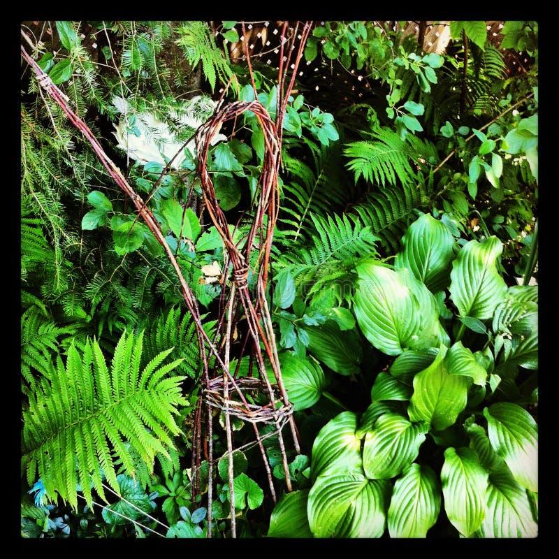 Фея сада стоковая фотография rf