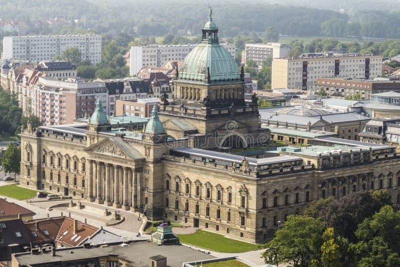 Федеральный административный суд, Лейпциг стоковое фото rf
