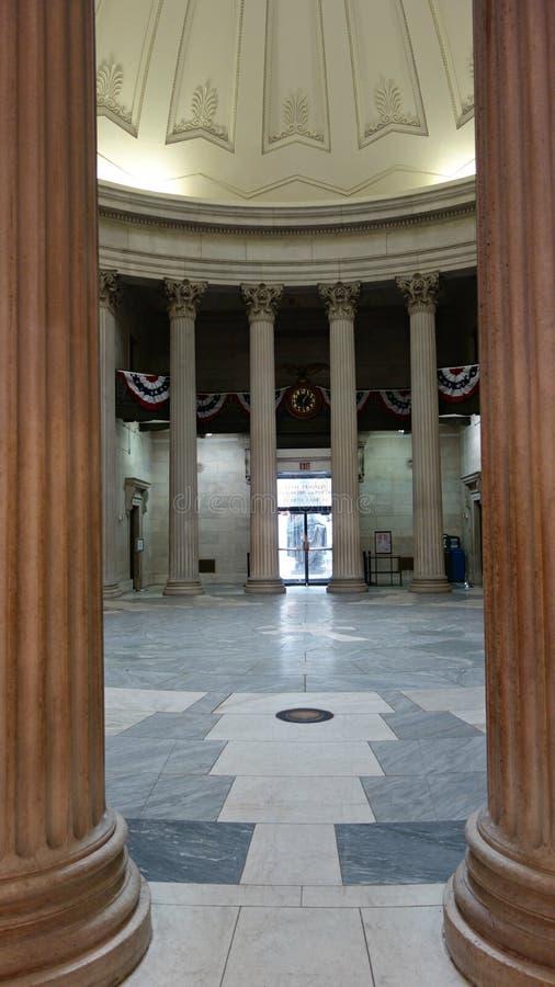 Федеральный мемориал Hall национальный стоковая фотография rf