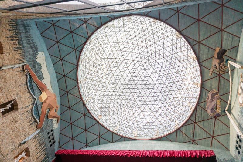 Фигерас, Испания - 12-ое ноября 2017: Музей Сальвадора Dali в Figeras стоковые фото