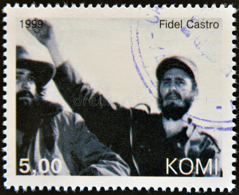 Фидел Частро стоковое изображение