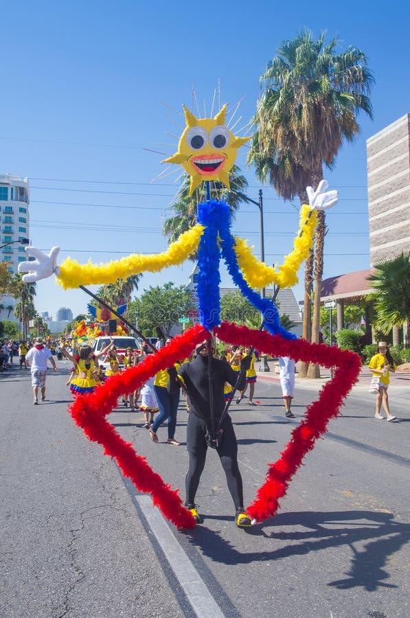 Фиеста Лас-Вегас стоковая фотография rf