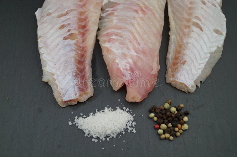 Филе рыб луциана стоковая фотография