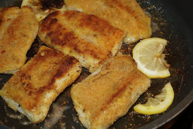 Филе рыб луциана стоковое фото