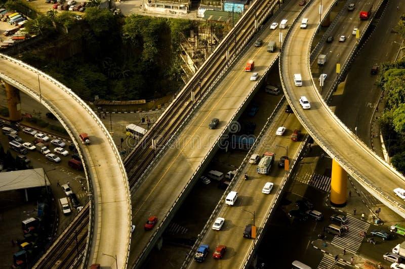 филиппинские дороги стоковое фото rf