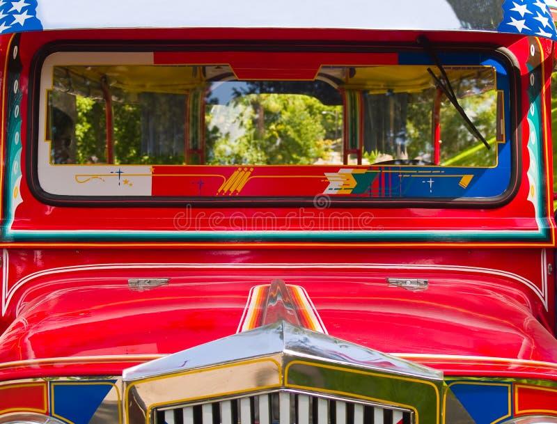 филиппинское jeepney стоковые фотографии rf
