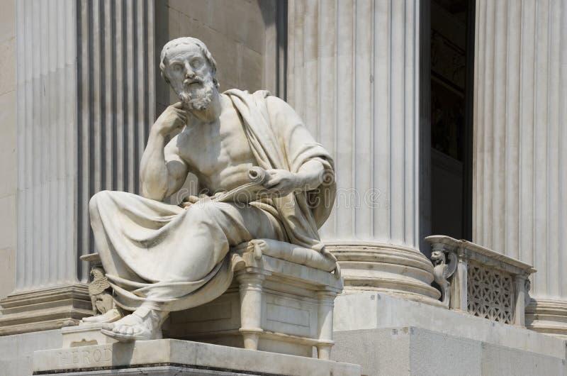 Философ Herodotus стоковые изображения