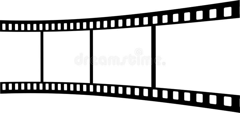 Фильм иллюстрация вектора