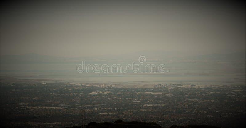 Фильтрованный взгляд от держателя Umunhan стоковые фотографии rf