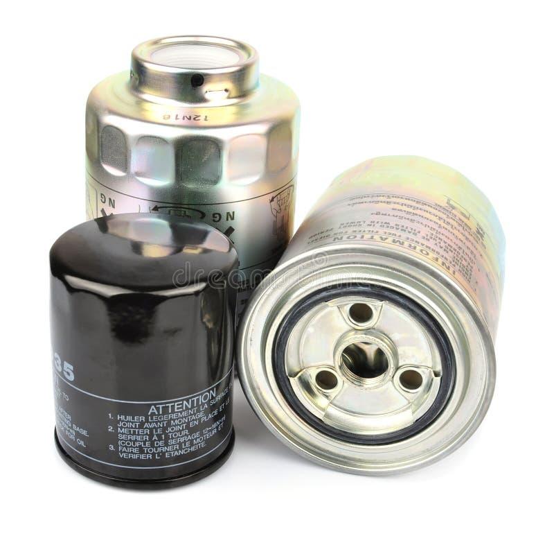 Фильтр для масла стоковое фото rf