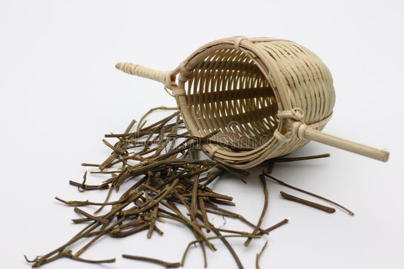 Фильтр чая и чая азиата стоковые изображения rf