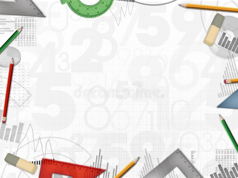 Финансовая предпосылка дела книг-хранителя бухгалтера иллюстрация вектора