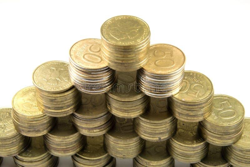финансовохозяйственная пирамидка стоковые фото