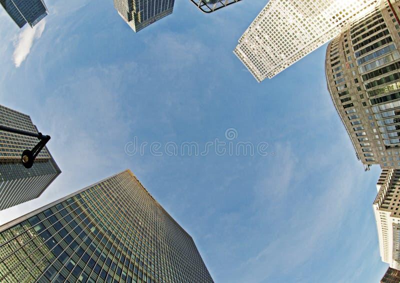 финансовохозяйственное сердце london s стоковая фотография