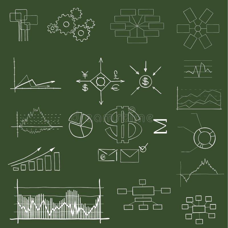 Финансовохозяйственно и дела иллюстрация штока