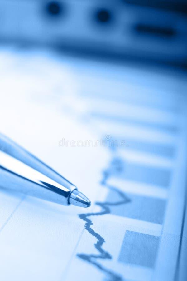 финансовохозяйственный отчет о пер стоковое фото