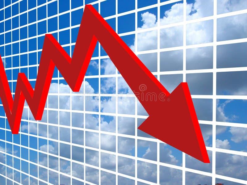 финансовохозяйственный рост иллюстрация вектора
