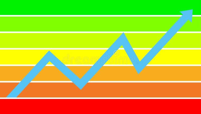 финансовохозяйственный успех диаграммы бесплатная иллюстрация