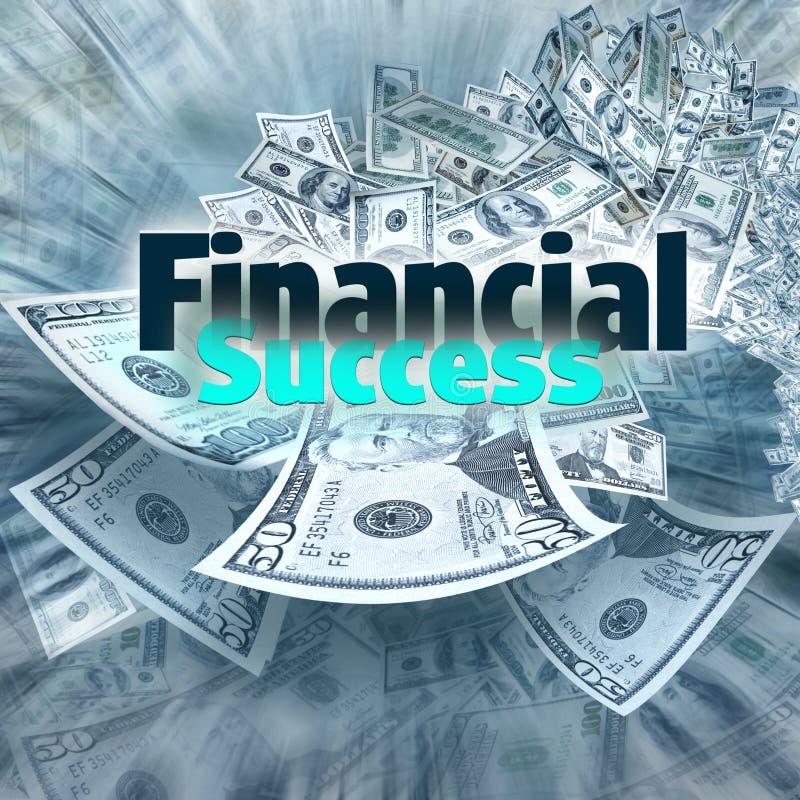 финансовохозяйственный успех стоковое изображение