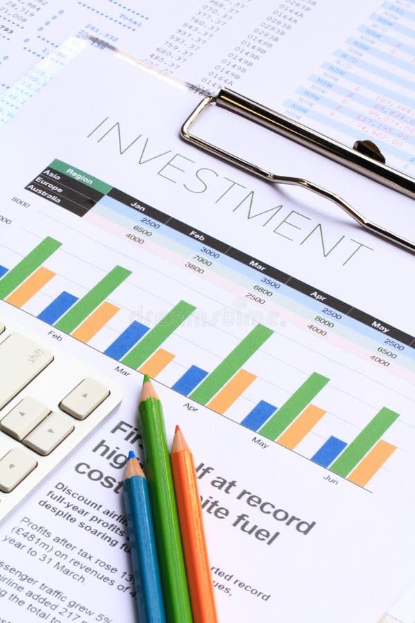 Финансовый анализ стоковое изображение rf