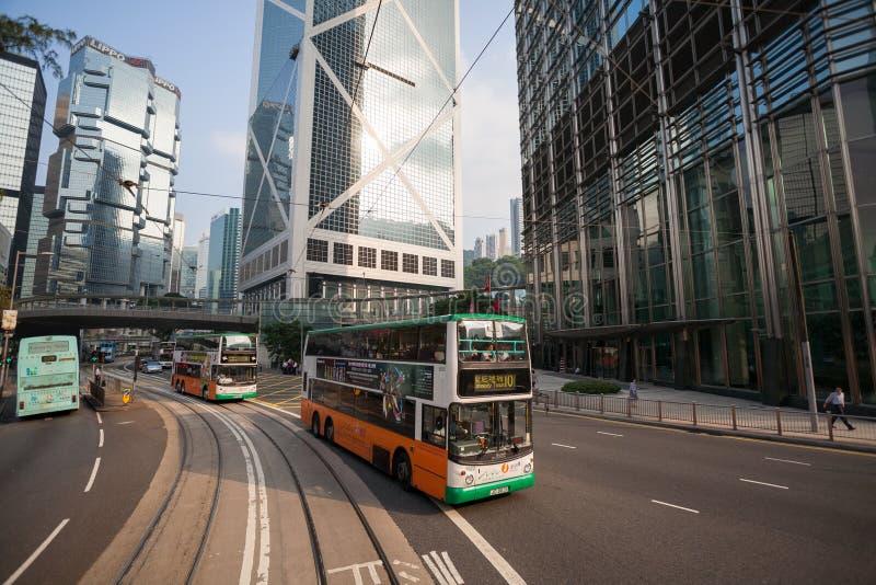 Download Финансовый район Гонконг ¡ Ð Entral Редакционное Стоковое Фото - изображение насчитывающей cityscape, шина: 40589568