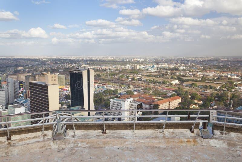 Финансовый район Найроби, Кения, редакционная стоковая фотография