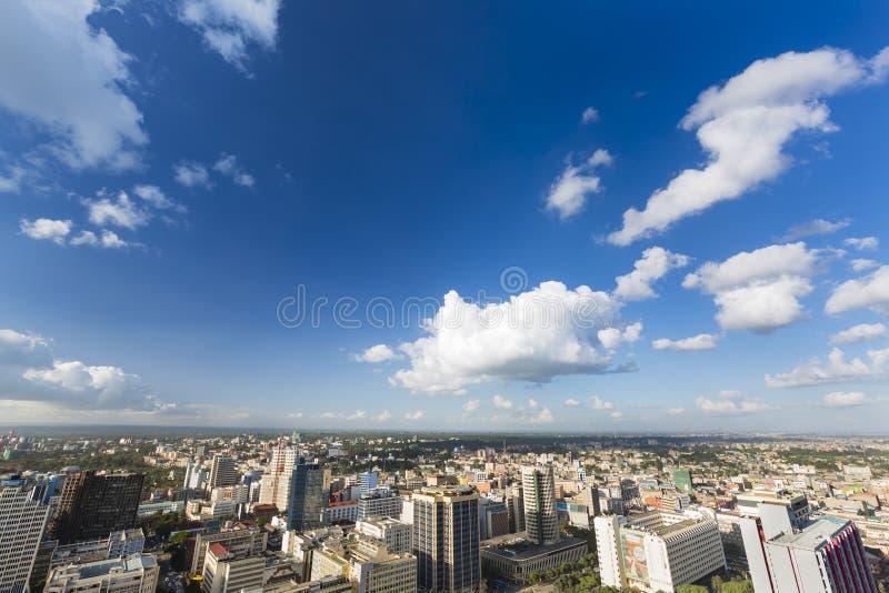 Финансовый район Найроби, Кения, редакционная стоковые изображения rf