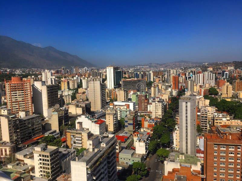 Финансовый район Sabana большой Каракаса Венесуэлы стоковые фото