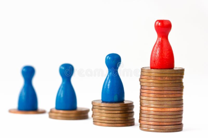 Финансовый успех II стоковое изображение rf