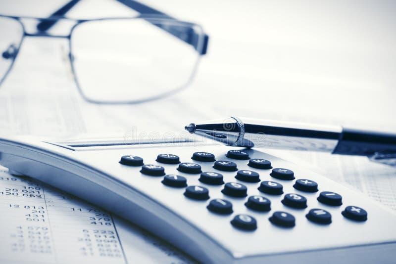 Финансовый учет стоковые фото