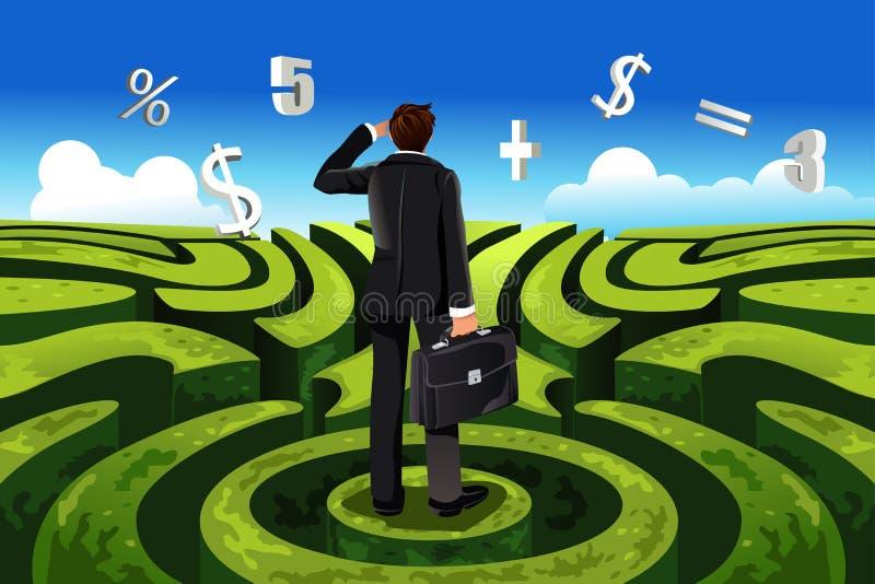 финансы дела иллюстрация вектора