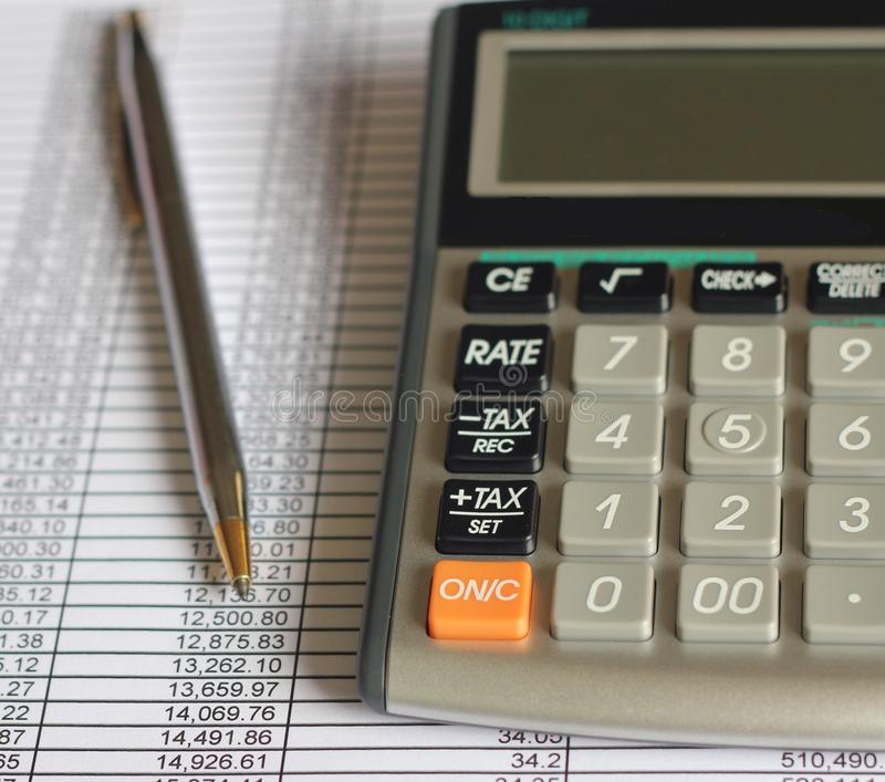Финансы учета стоковые изображения rf