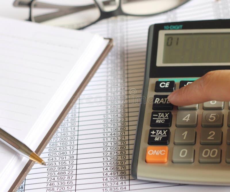 Финансы учета стоковое фото rf