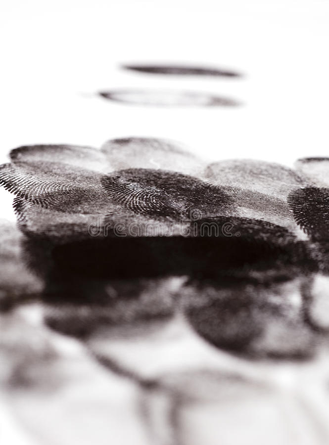 фингерпринты стоковые изображения rf