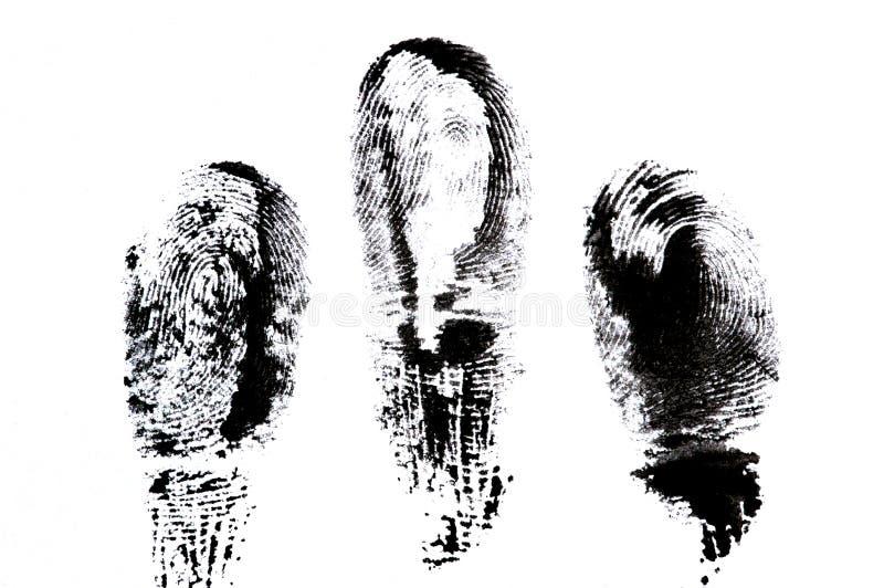 фингерпринт стоковая фотография
