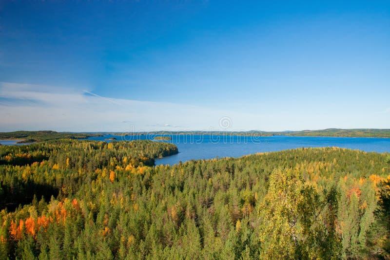 финский ландшафт стоковая фотография