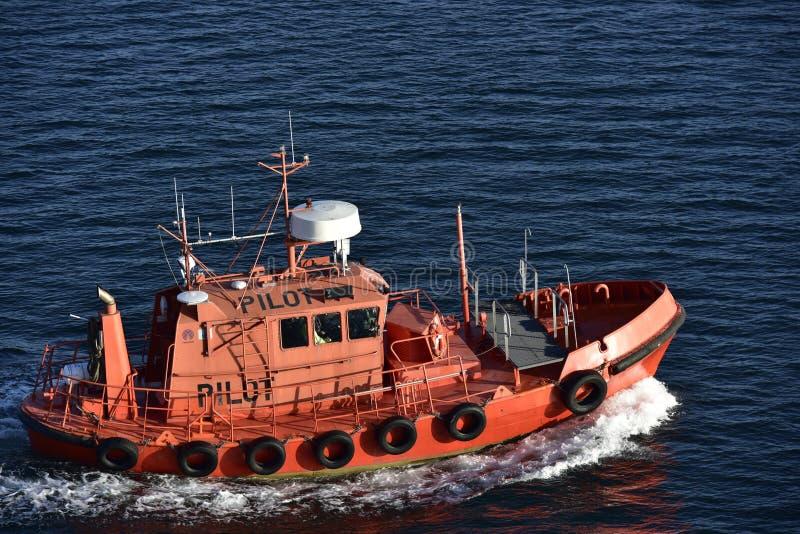 Финский пилотный резец около острова Aland, Финляндии стоковое фото rf