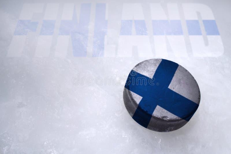 Финский хоккей стоковая фотография