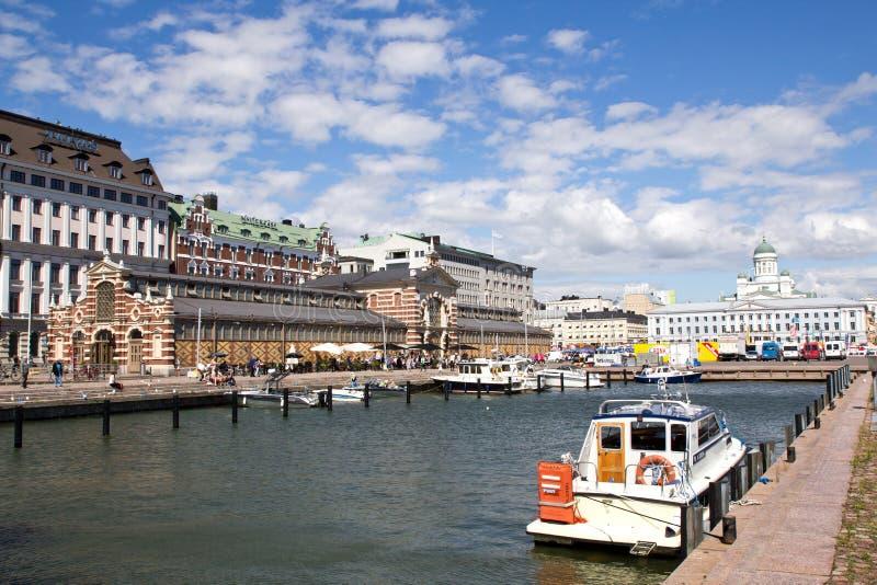 Финляндия, Хельсинки, гавань стоковое фото