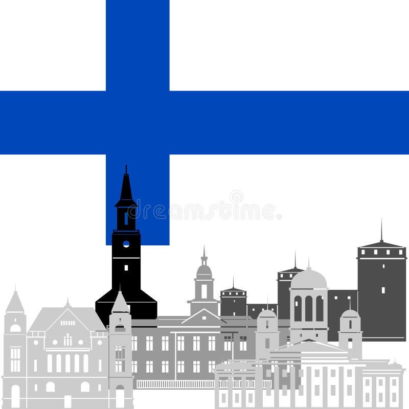 Финляндия иллюстрация штока