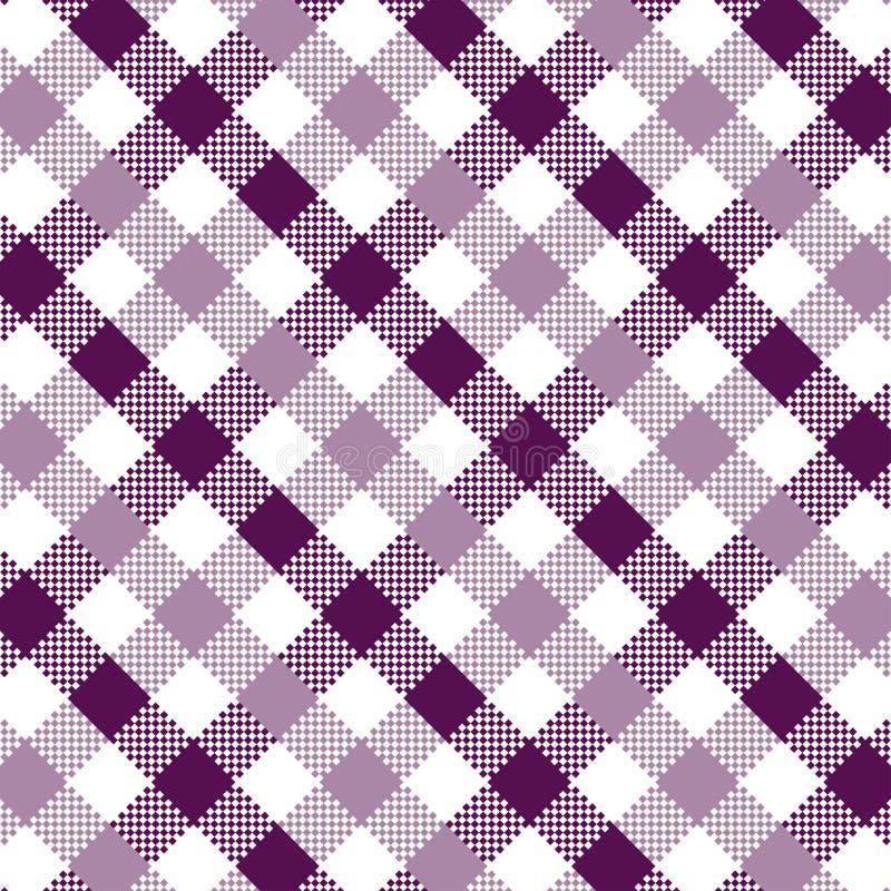 Фиолетовая картина холстинки иллюстрация вектора