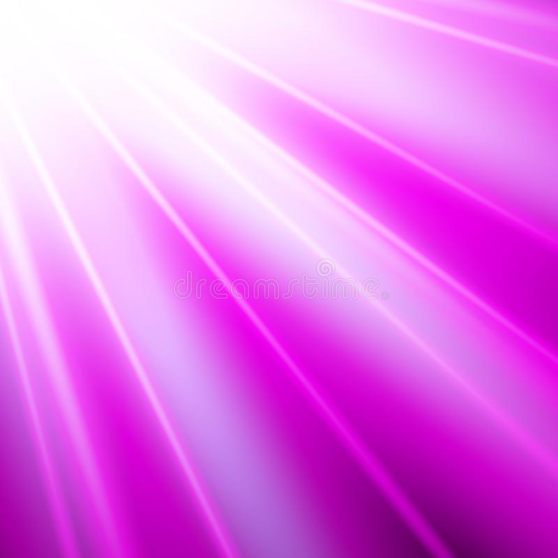 Фиолетовый абстрактный вектор лучей иллюстрация вектора
