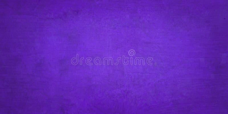 Фиолетовый фон с слабо вытеревшей ароматной текстурой и старинным винтажным гранжем стоковые изображения rf