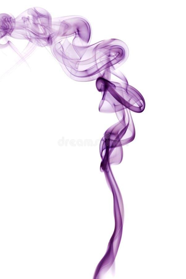 фиолет дыма стоковая фотография rf